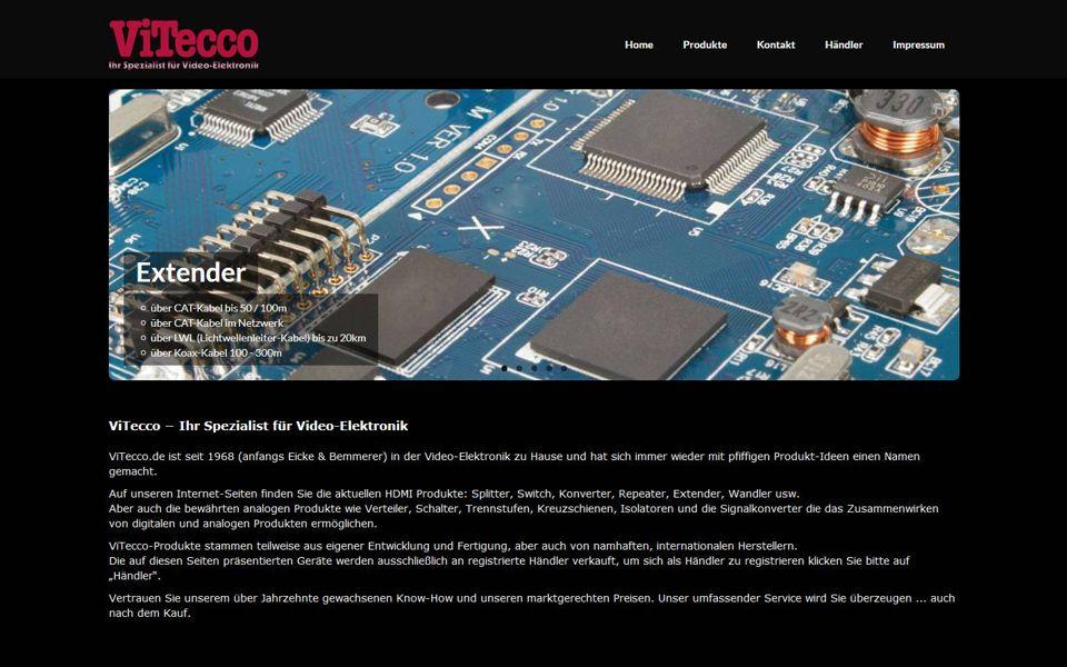 ViTecco GmbH – WebseitenDesigner